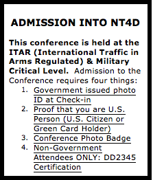 2015 Nanotechnology For Defense Conference